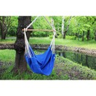Chair hammock made of linen blue RGK-5