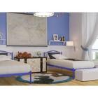 """Кровать """"Вероника Мини"""", 190x80 cм, каркас синий"""