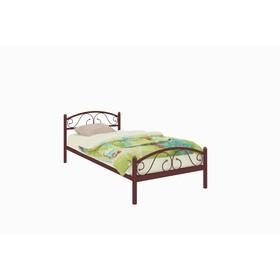Кровать «Вероника Мини Плюс», 200 × 90 cм, каркас коричневый