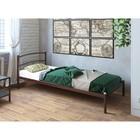 """Кровать """"Хостел"""", 200x80 cм, каркас коричневый"""