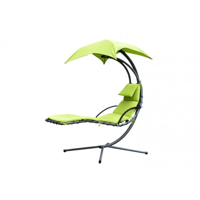 Шезлонг подвесной Dream, цвет зелёный