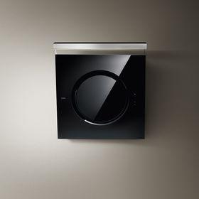 Вытяжка Elica OM Touch Screen BL/F/80, 1200 м3/ч, 4 скорости, чёрно-серебристая