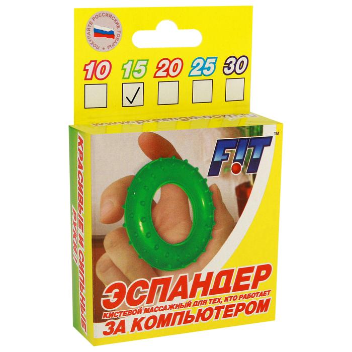 Эспандер 15 кг в подарочной упаковке, цвета МИКС