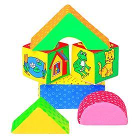 Развивающая игрушка «Кубики Домики»