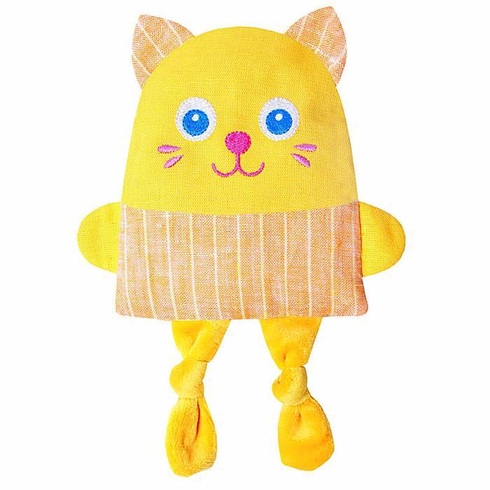 Развивающая игрушка с вишнёвыми косточками «Крошка Кот. Доктор мякиш» - фото 106526444