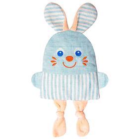 Развивающая игрушка с вишнёвыми косточками «Крошка Зайка. Доктор мякиш»