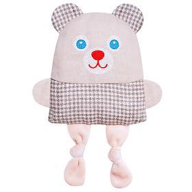 Развивающая игрушка с вишневыми косточками «Крошка Мишка. Доктор мякиш»