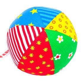 Развивающий мягкая погремушка «Мяч Радуга», цвета МИКС Ош