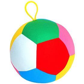 Развивающая игрушка «Футбольный мяч», большой, разноцветный