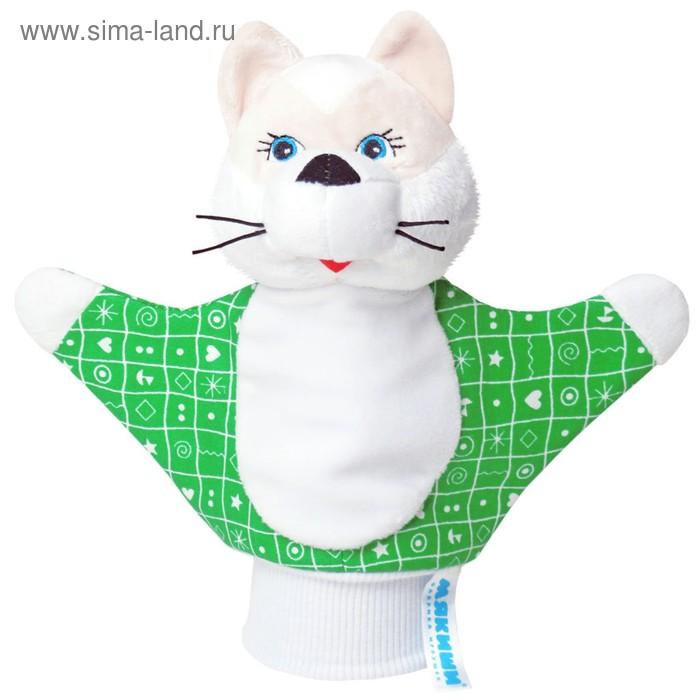 """Игрушка-рукавичка """"Котёнок"""", цвета МИКС"""