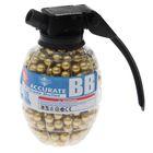 Пульки пластиковые, 500 шт., цвет золотистый