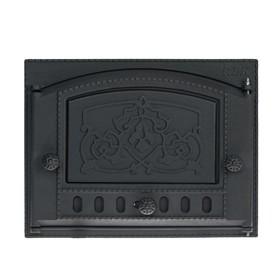 Дверка каминная топочная ДК-2Б Рубцовск 435х320х92 мм