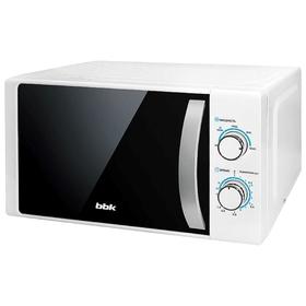 Микроволновая печь BBK 20MWS-711M/WS, 700 Вт, 20 л, серебристо-белая