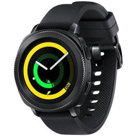 """Смарт-часы Samsung Galaxy Gear Sport SM-R600NZKASER, цветной дисплей 1.22"""", чёрные"""