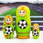 """Матрешка 3 кукольная """"Екатеринбург"""" 11см"""
