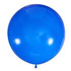 """Шар латексный 24"""" пастель, DARK BLUE"""