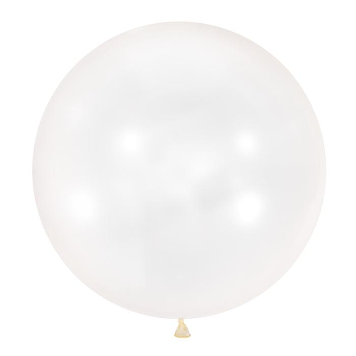 """Шар латексный 36"""", декоратор, цвет прозрачный - фото 308469353"""