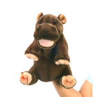 Мягкая игрушка «Гиппопотам», игрушка на руку, 24 см