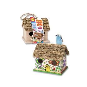 Набор для декора деревянного домика для птиц «Дом, милый дом»