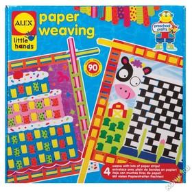 Узорное плетение из бумаги