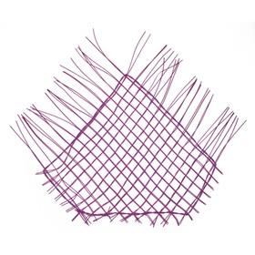 """Каркас """"Сеть"""" ротанг, 60 х 42 см, фиолетовый"""