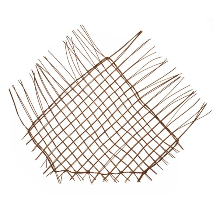 """Каркас """"Сеть"""" ротанг, 60 х 42 см, коричневый"""