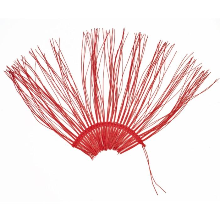 """Каркас """"Веер"""" ротанг, 45 х 88 см, ярко-красный"""