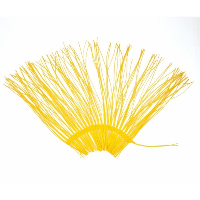 """Каркас """"Веер"""" ротанг, 45 х 88 см, жёлтый"""