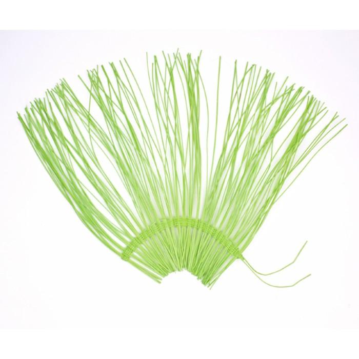 "Каркас ""Веер"" ротанг, 45 х 88 см, светлый-зелёный"