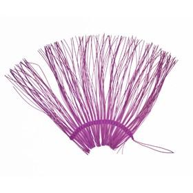 """Каркас """"Веер"""" ротанг, 45 х 88 см, фиолетовый"""