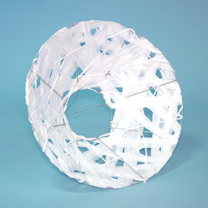"""Каркас для букета """"Бумажный переплет"""" 30 см, белый"""