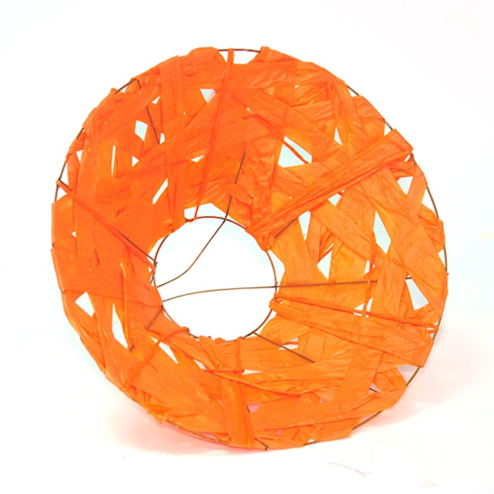 """Каркас для букета """"Бумажный переплет"""" 30 см, оранжевый"""