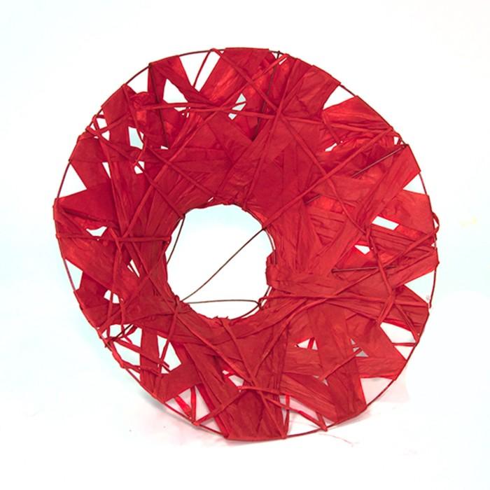 """Каркас для букета """"Бумажный переплет"""" 30 см, красный"""