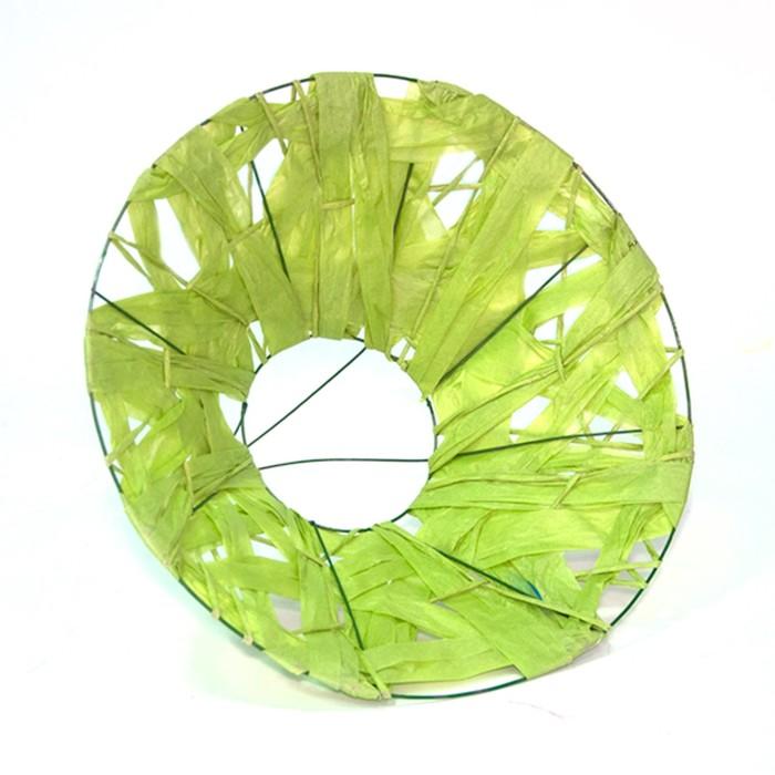 """Каркас для букета """"Бумажный переплет"""" 30 см, зелёное яблоко"""