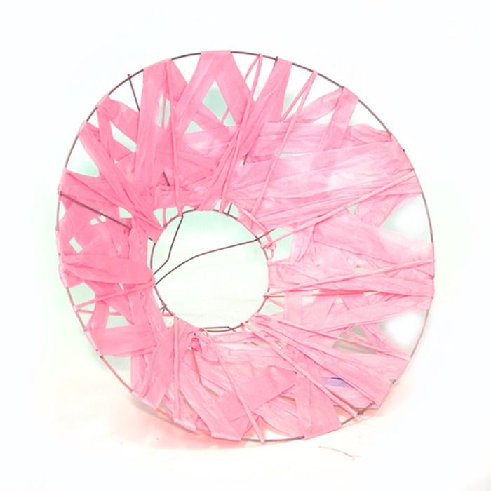 """Каркас для букета """"Бумажный переплет"""" 30 см, розовый"""