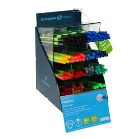 Ручка капиллярная Schneider Topliner 967 0.4 мм, 10 цветов, 100 штук в дисплее SiS