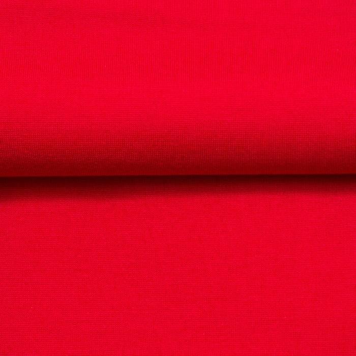 Ткань костюмная, трикотаж, ширина 150 см, красный