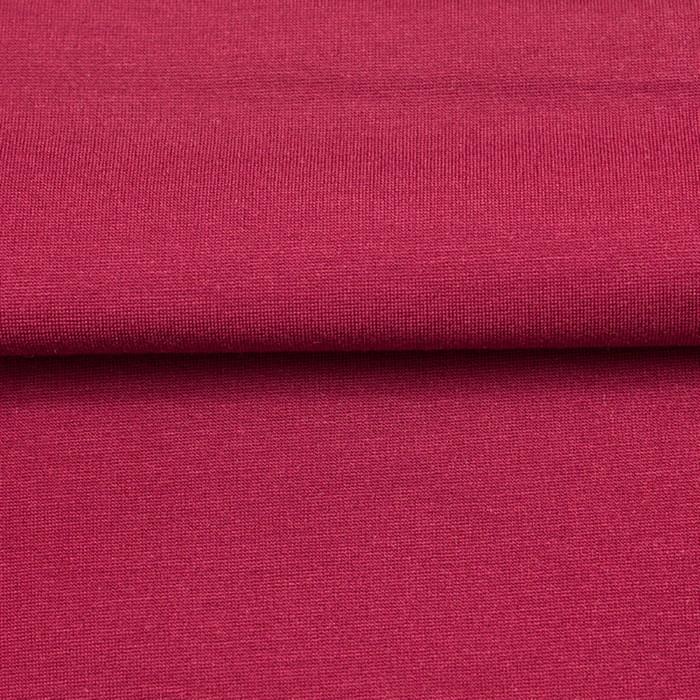 Ткань костюмная, трикотаж, ширина 150 см, бордовый