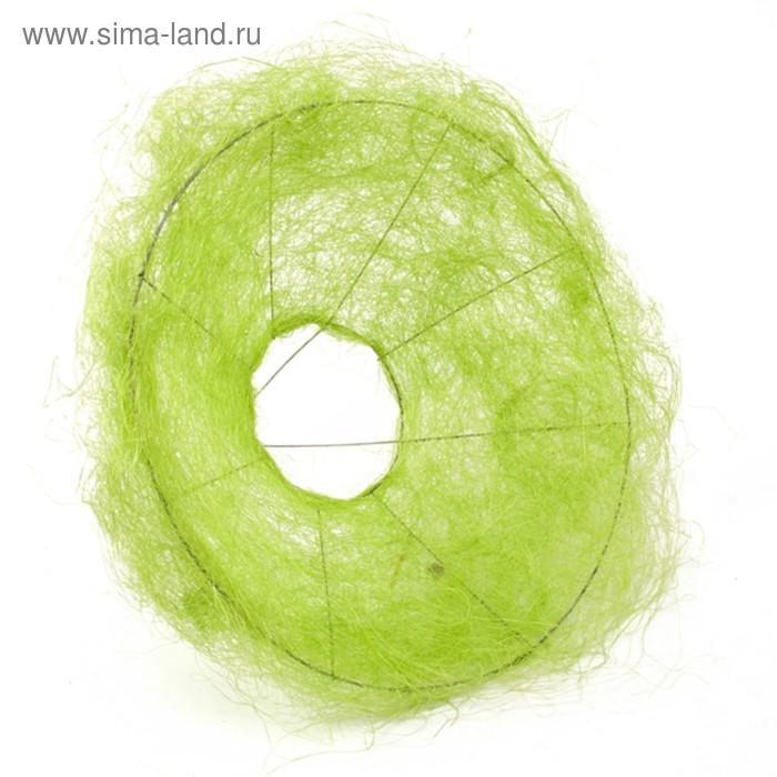 аркас дл¤ букета, сизаль, 30 см, зелЄный