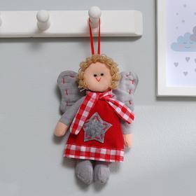 Подвеска «Ангел», кукла в шарфике, звезда на платье, цвета МИКС