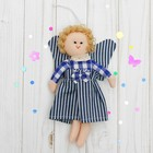 "Toy pendant ""Angel"" doll with wings, a bow on the dress, MIX color"