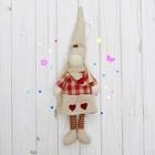 """Мягкая игрушка-подвеска кукла """"Человечек"""" в колпаке и в шарфике, цвета МИКС"""