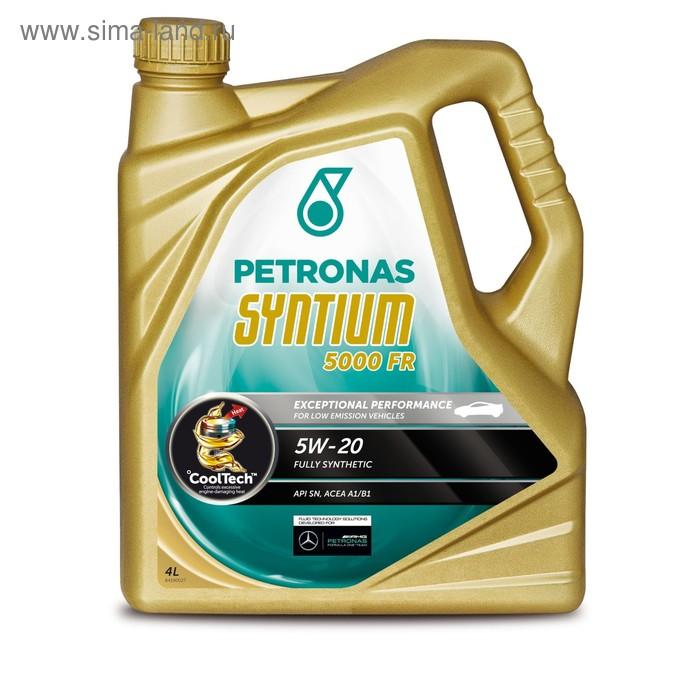 Моторное масло  Petronas SYNTIUM 5000 FR 5W-20, 4 л