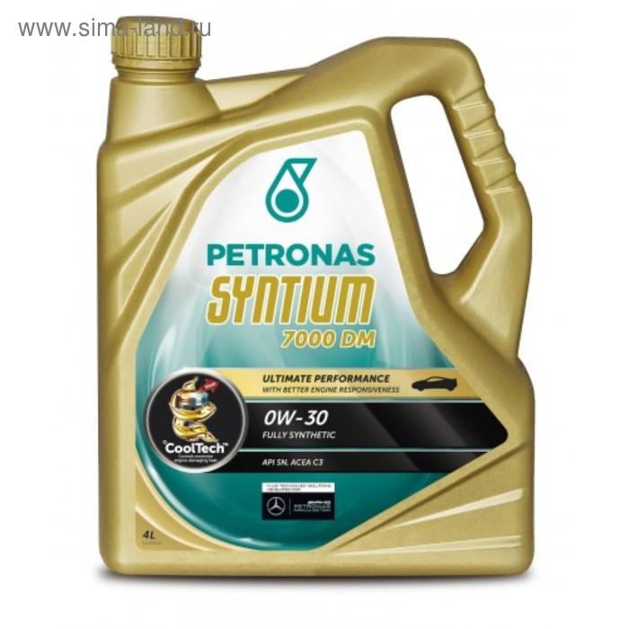 Моторное масло Petronas SYNTIUM 7000 DM 0W-30, 4 л