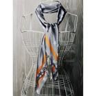 Платок женский, размер  70х70 см, цвет белый  K0570PL110