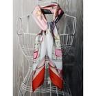 Платок женский, размер  70х70 см, цвет белый  K0570PL117