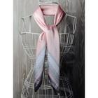 Платок женский, размер  70х70 см, цвет розовый  K0570PL119
