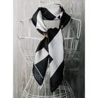 Платок женский, размер  70х70 см, цвет чёрный  K0570PL123