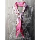 Платок женский, размер  70х70 см, цвет розовый  K0570PL126