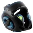 Шлем Full Face, для бокса, Speed Head gear, размер M, цвет чёрно-синий